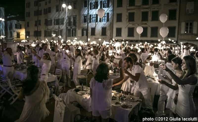 BE COOL BE WHITE: LA CENA SOSTENIBILE