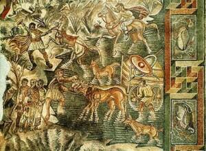 da noto a vendicari - mosaico di caccia - villa di tellaro