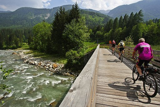val di sole in bicicletta