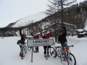 snow bike viagginbici