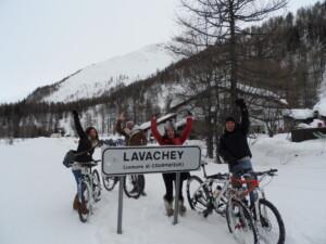 snow bike viagginbici