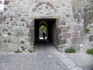 nel castello di Lipari
