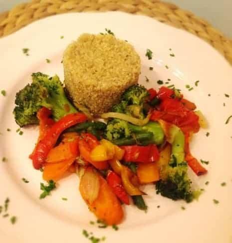 piatto di quinoa