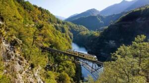 passaggio sul ponte in ferro