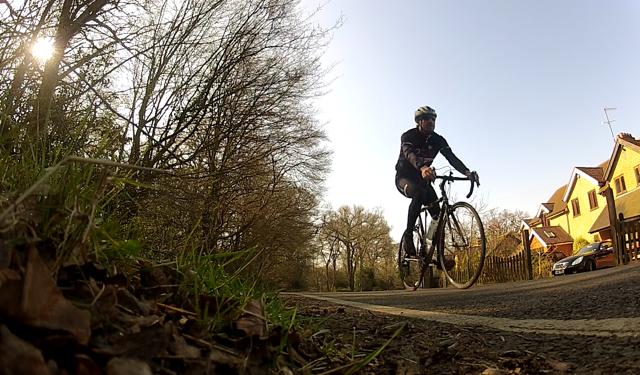 londra e essex in bici