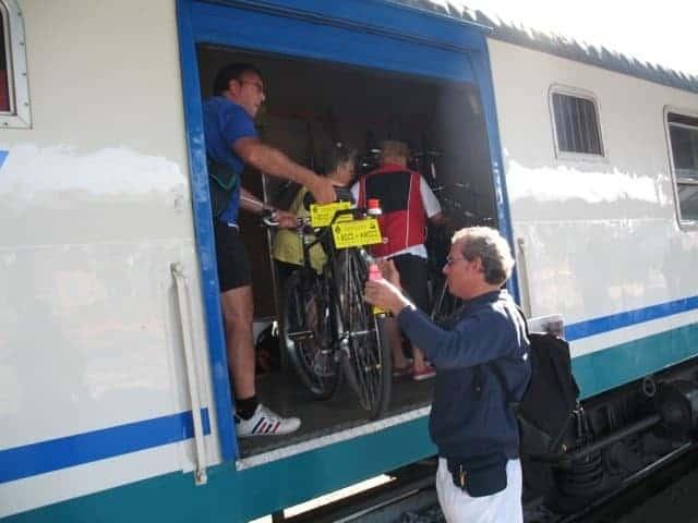pasquetta in bici e treno