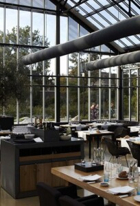 ristorante in serra