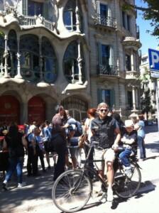 barcellona in bicicletta