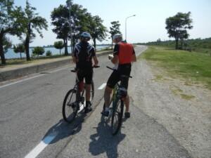 in bici sul delta