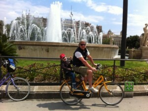 in bicicletta a barcellona