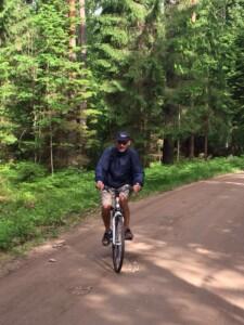 nel bosco in estonia