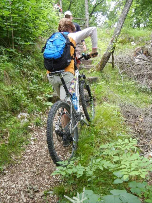 valcellina in bicicletta