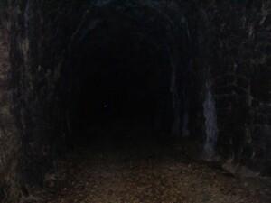 interno galleria del valico della Caprareccia lungo la Spoleto Norcia
