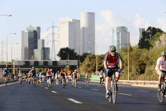 tel aviv in bicicletta