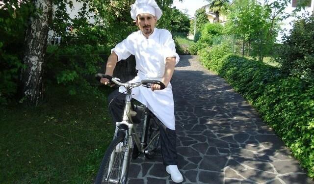 lo chef in bicicletta