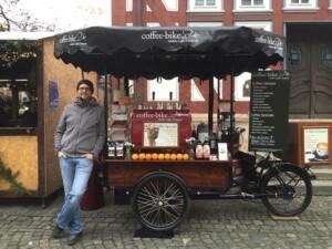 coffee by bike