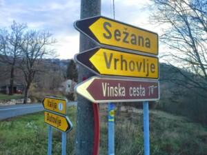 cartelli vinska cesta