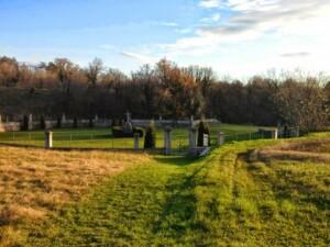 ingresso cimitero militare