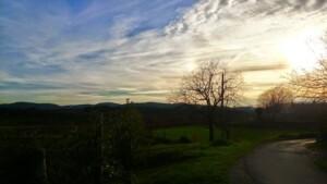tramonto al ritorno