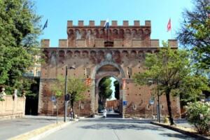 porta romana a Siena