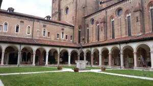 Il chiostro del Tempio di San Lorenzo, Vicenza