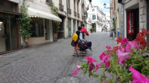 Scorcio di corso Fogazzaro, Vicenza
