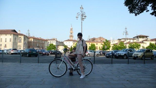 viaggio in bici con bambini