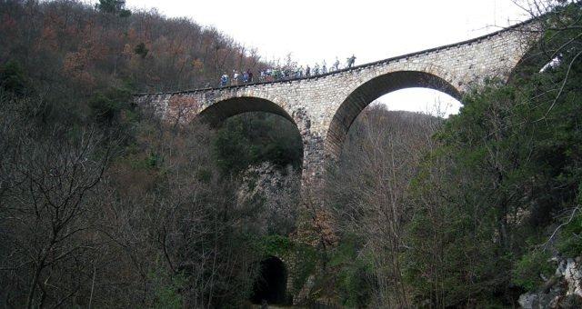 Uno dei viadotti verso Sant'Anatolia