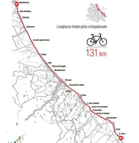 pista bike to coast