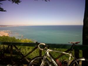 Parco San Bartolo, panorama sul mare Adriatico