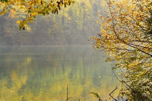 pedalare in autunno sull'adda