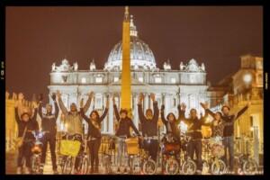roma in bicicletta il grab
