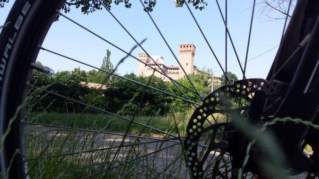 modena in bicicletta