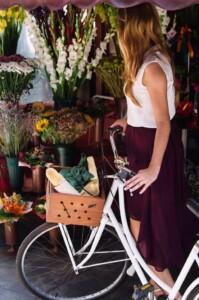 donna e bici