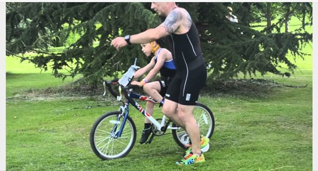 triathlon baby