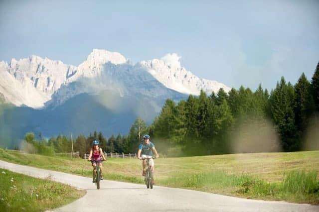 Il ciclismo può anche essere comodo!
