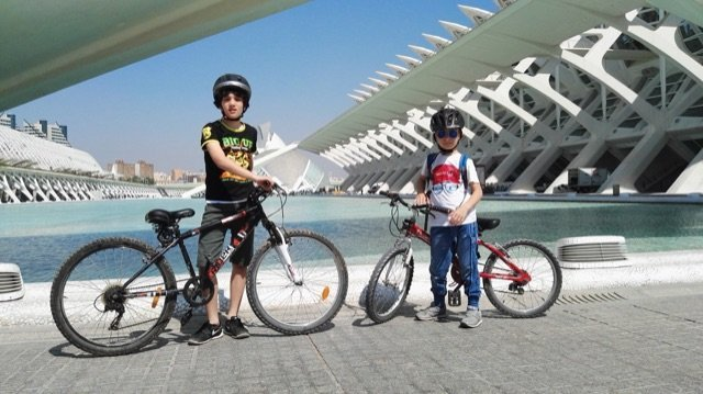 valencia family bike