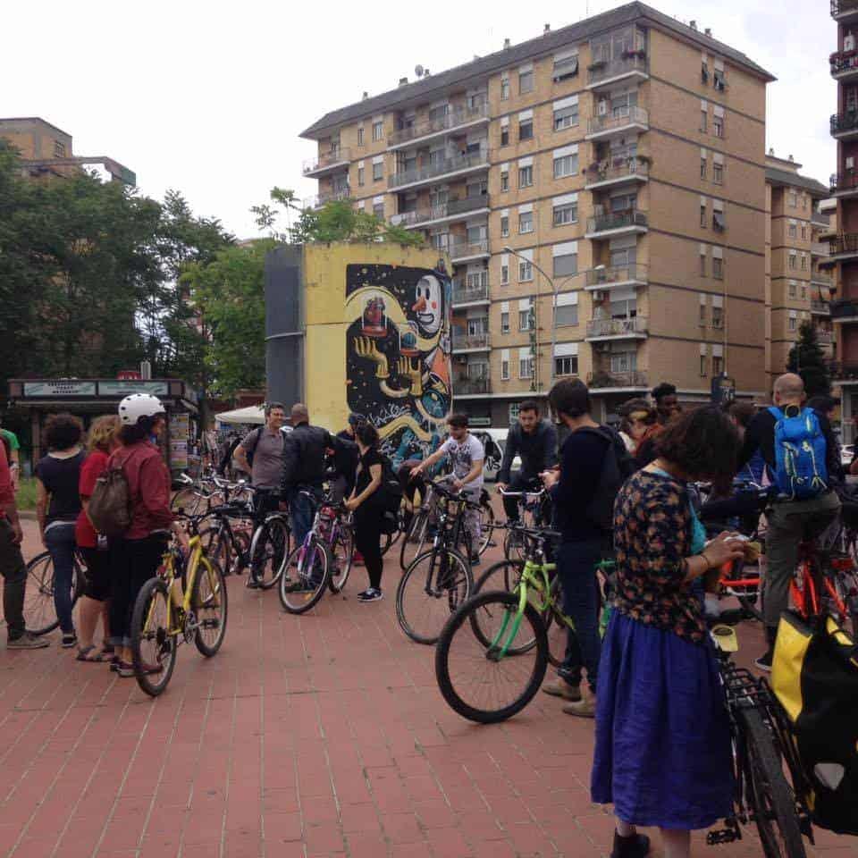 Murales di Roma, il tour in bici della street art capitolina
