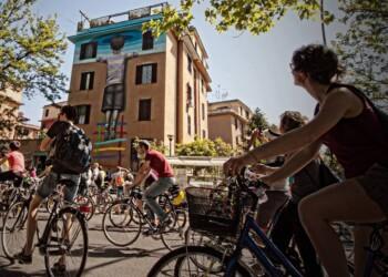 murales di Roma in bici (foto di Rebike Altermobility)