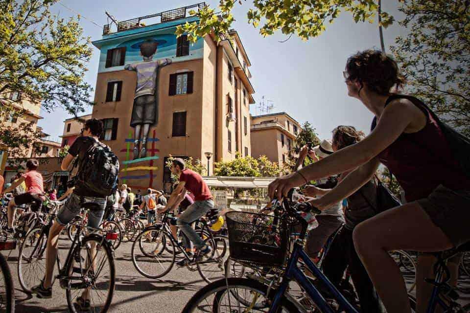Murales di Roma, un tour in bicicletta alla scoperta della street art capitolina (parte 2)