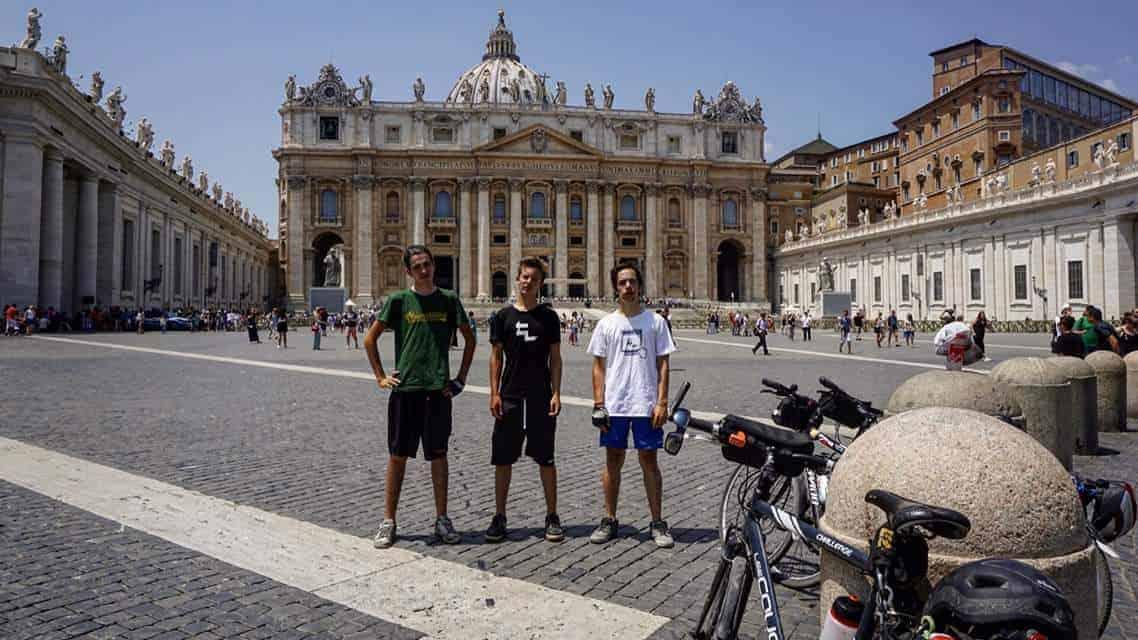 milano roma in bici