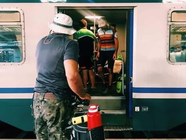 #MagnaBorbonica in bicicletta: prima tappa, da Napoli a Paestum