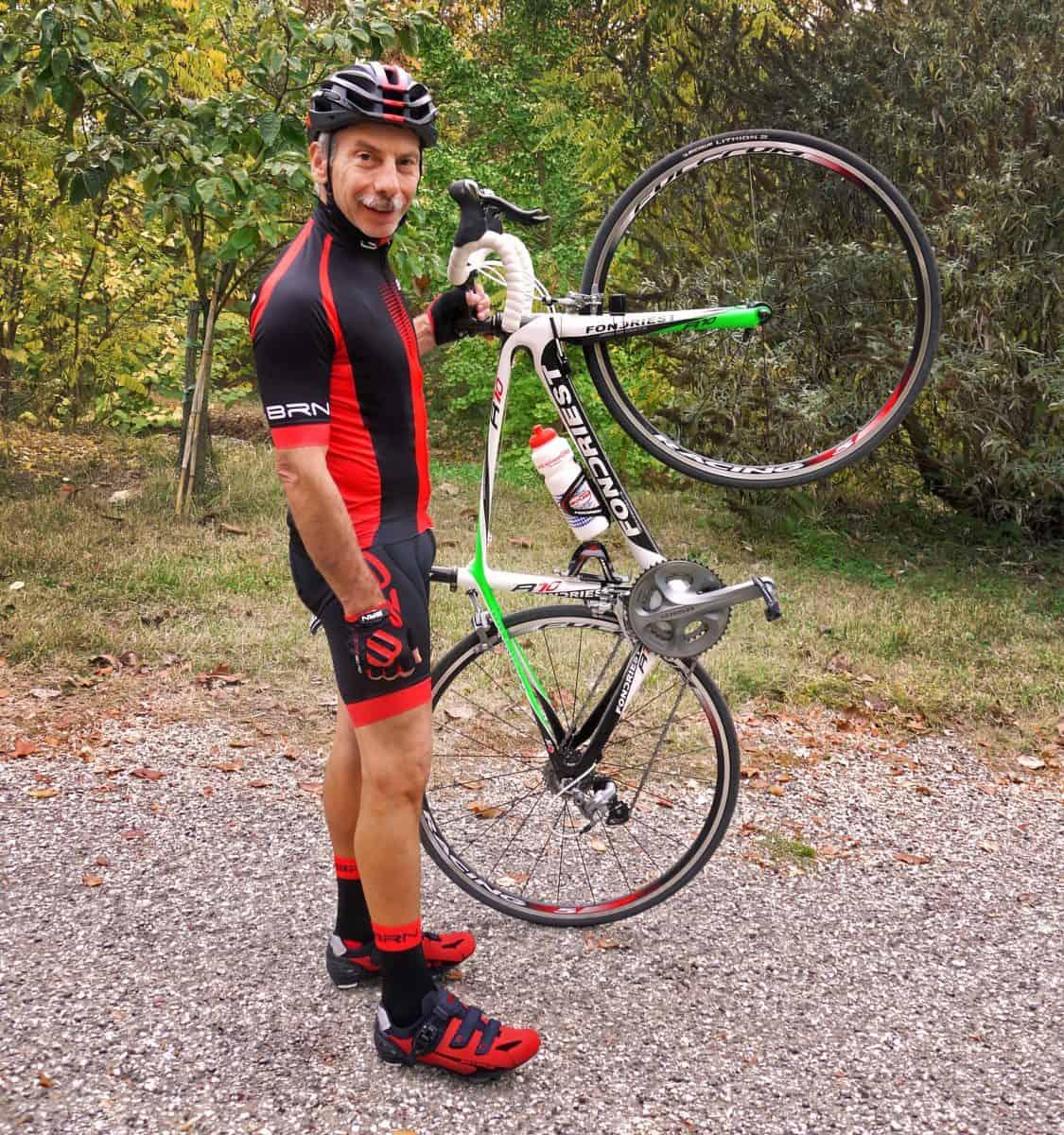 Giovanni Storti e Manima onlus, pedalata solidale per i bambini prematuri