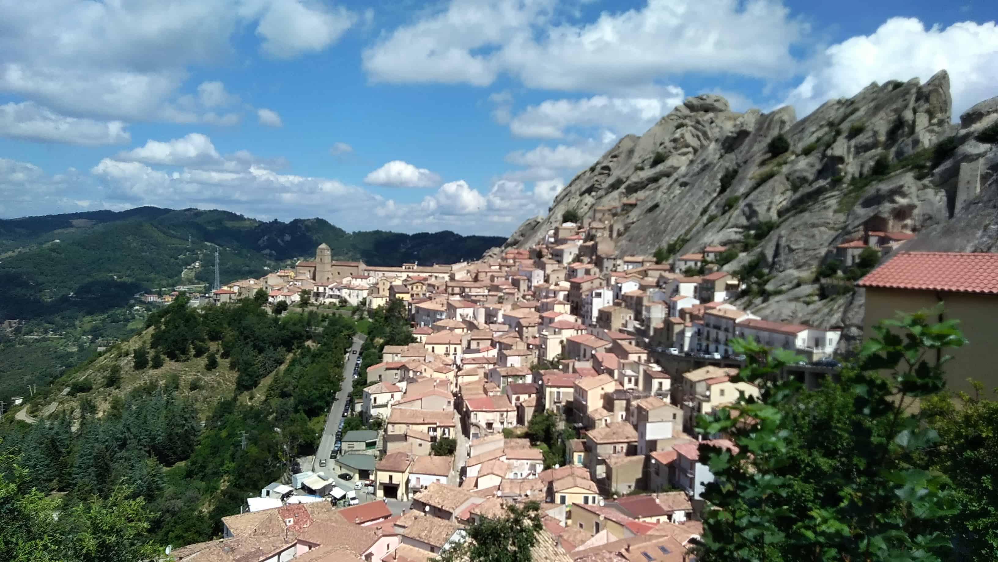 Il borgo di Pietrapertosa