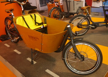 cargo bike esposta a eurobike