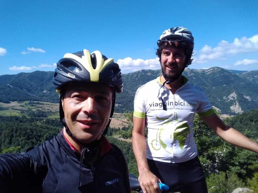 In bici sulle Dolomiti lucane