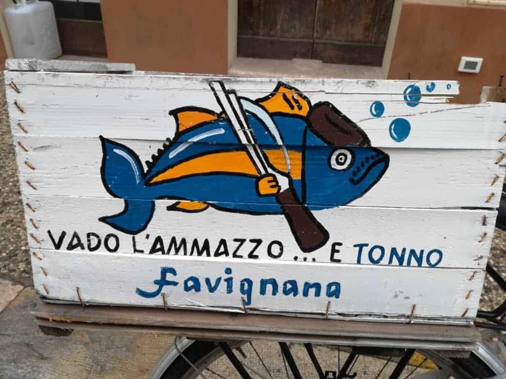 Kebabberia di tonno, Favignana