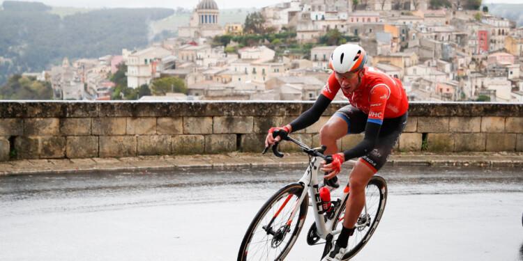 Foto LaPresse - Massimo Paolone 5 Aprile 2019 Ragusa (Italia) Sport Ciclismo Il Giro di Sicilia 2019 - Tappa 3 - Da Caltanissetta a Ragusa - km 188 Nella foto:   Photo LaPresse - Massimo Paolone April 5, 2019 Ragusa (Italy)  Sport Cycling Il Giro di Sicilia - Stage 3 - From Caltanissetta to Ragusa - 116,8 miles In the pic: